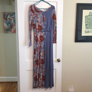 NWOT! Free People Floral Maxi Dress